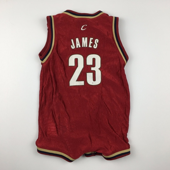 quality design 0f422 162f3 Lebron James 23 Cleveland Cavaliers 24 Months Baby